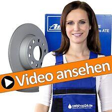 ATE BREMSSCHEIBEN SET VOLL Ø300mm + CERAMIC BREMSBELÄGE HINTEN AUDI A4 8K B8 A5