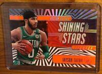 2019-20 Jayson Tatum Panini Illusions Orange Acetate Shining Stars Celtics!