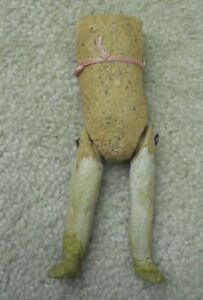 """Antique Composition Cork Body with Jointed Legs 6"""" Tall"""