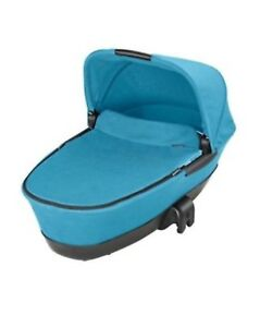 Maxi Cosi Foldable Carrycot Pushchair Addition Mosaic Blue Brand New stunning