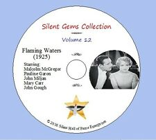 "DVD ""Flaming Waters"" (1925) Malcolm McGregor, Pauline Garon,Classic Silent Drama"