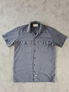 Dickies Grey Workshirt Size Medium