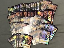 100x Slashdance Loot Card UNSCRATCHED World Of Warcraft WOW TCG Drums Of War