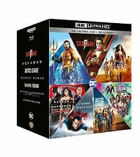 DC Extended Universe - Cofanetto 7 FILM (7 4K UHD + 7 Blu-Ray)