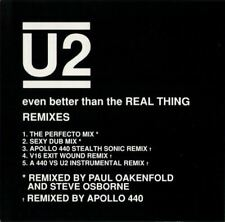 U2 even better than the real thing (remixes) (CD) house, pop rock, big beat,