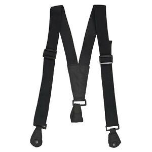 Trespass Braces Ski Snowboard Trouser Salopette Suspenders - Black - One Size