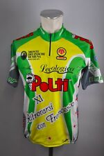 SEB Polti 1999 Team Moser Radtrikot cycling jersey Rad Trikot Gr L 54CM MA1
