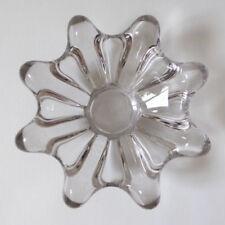Bowl Clear Vintage Original Art Glass
