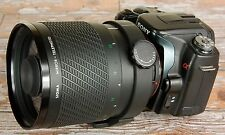 Sony Alpha A Minolta Digital fit Sigma 600mm F8 Mirror Lens 4 sport wildlife