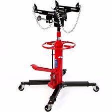 Hd shop Hydraulic Transmission Tranny hoists Telescopic Jack lifts Wheel 1/2 ton