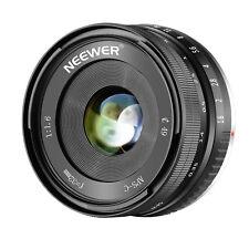 Neewer Obiettivo Fuoco Manuale 32mm F/1.6 Apertura Grande per Sony NEX E-Mount