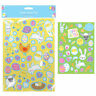 Childrens Easter Party Bag Stickers 2 Sticker Sheets Kids Fillers pack