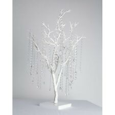 Blanc Arbre Artificiel manzanita souhaitant table mariage centre de table 31 ""