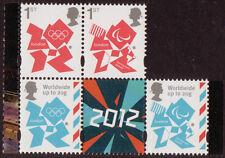 Gran Bretaña 2012 Londres Juegos Olímpicos Definitivos de 4 SELLOS para , MNH