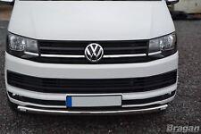 Pour s'Adapter 2015+ Volkswagen Transporter T6 Caravelle pare-chocs avant spoiler Bar + DEL
