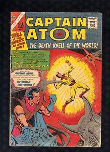 CAPTAIN ATOM #80, Charlton (1966) Ditko/Joe Gill G-V/G [A1]