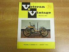 August 1963, VETERAN & VINTAGE, Freddie Simms, Sir Alastair Miller, Pat Lindsay.