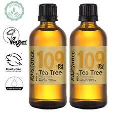 Naissance Teebaumöl 100ml 100 Naturreines ätherisches Öl