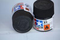 Tamiya Peinture Pot 10ml X1 Noir Brillant