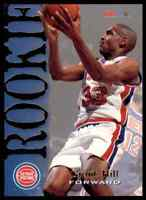 1994-95 NBA HOOPS ROOKIE GRANT HILL RC DETROIT PISTONS #322