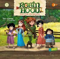 ROBIN HOOD-SCHLITZOHR VON SHERWOOD-12-HÖRSPIEL TV-SERIE-GEHEIME GARTEN  CD NEU