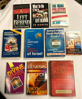 Lot Of ~ 9 ~  UNUSUAL and Informative Religious Books ~ Nice Clean Lot !!
