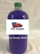 2 Pack Wash and wax car wash soap military inspired