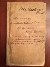 1877 History St Mark's Parish Culpeper County, Virginia, Patrick Henry Family VA