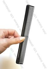 Salon Black Plastic Cutting Hair Tooth Comb Barber Hairdressing Pocket New 2018