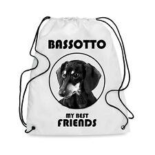 Borsa Sacca cane BASSOTTO MY BEST FRIEND