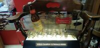 Vintage. Budweiser World Champion Clydesdale Horse Lighted Counter Display
