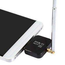 DVB-T2 Empfänger Micro USB Tuner TV Receiver Stick Android OS 4.1 Antenne Dongle