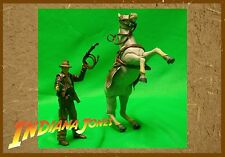 Hasbro Indiana Jones Raiders of the Lost Ark 3 3/4 Indy w/ Horse Action Figures