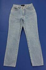 Valentino jeans vintage donna slim w28 tg 42 mom hot vita alta blu usati T2068