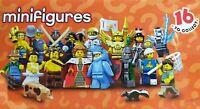 ☆ LEGO MINIFIGURES BUSTINA ☆►NUOVA◄ MISB RANDOM 10 PZ SERIE 14 DI CUI INEDITI 16