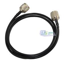1M N Stecker auf N Stecker Jack Antenne Koax Pigtail Kabel RG58 Jumper Adapter