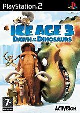 ICE Age 3 Amanecer de los dinosaurios PS2 PlayStation 2 Video Juego UK release