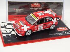 Ixo Presse 1/43 - Toyota Corolla WRC Rallye Monte Carlo 2003