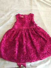 American Princess Pink Christmas Holiday Special Dress Size 4