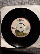 Cat Stevens Another Saturday Night 45 rpm Vinyl Single