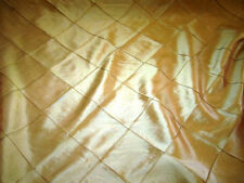 "Faux Silk Embroidery Taffeta Gold Diamond 54""  fabric sold BTY Ret.$27"