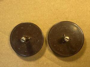 Vintage 1953 RCA MI-15910 Reel Tables w/ Spindles Screws for Reel to Reel