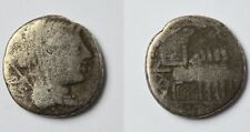 Denar Silber Römische Republik L. Rubri Dosseni L. Rubrius Dossenus 87 v.Chr.