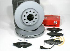 VW Arteon [3H] - Zimmermann Bremsscheiben Bremsbeläge Bremsen für vorne