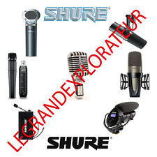 Ultimate Shure Microphones Repair Schematics, Owner & Service Manuals   Manual s
