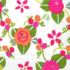 Julie Dodsworth Orchard Road blossom new 2013 paper table napkins 20 in pack