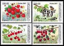 2007. Uzbekistan.Flora. BERRIES. Set. MNH. Sc.523-526