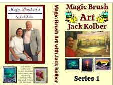 Jack Kolber TV Series13 wet on wet oil painting lesson 3 DVDs Bill.Alexander art