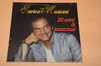 ENRICO MUSIANI LP 20 ANNI DI SUCCESSI STAMPA ORIGINALE SIGILLATA