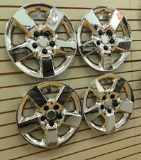 """NEW 16"""" Hubcap Wheelcover CHROME SET of 4 that FITS 2008-2013 Nissan ROGUE"""